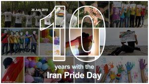 10yrs with the Iran Pride Day